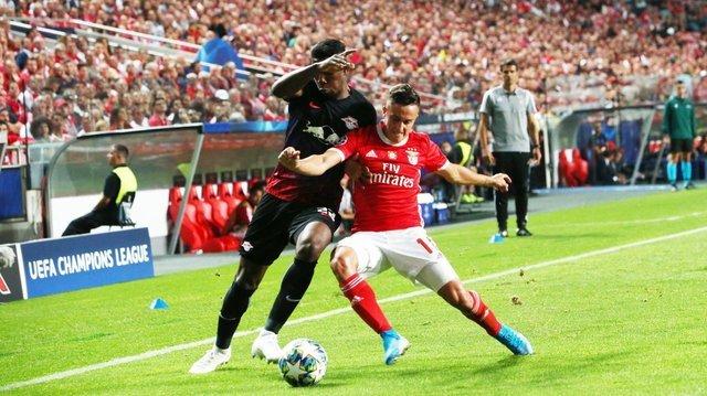 Resultado Benfica vs RB Leipzig – Fase de Grupos –  Champions League