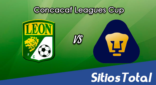 León vs Pumas en Vivo – Leagues Cup – Miércoles 15 de Septiembre del 2021