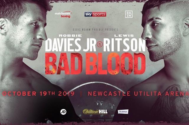 Lewis Ritson vs Robbie Davies Jr en Vivo – Box – Sábado 19 de Octubre del 2019