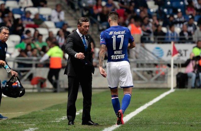 Edgar Méndez regresa al Azul despues de su suspensión