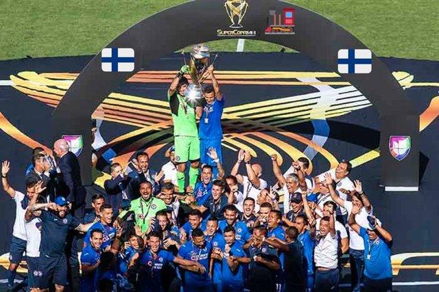 Clubes de la Liga MX felicitan a Cruz Azul por ser Campeón de la Supercopa MX