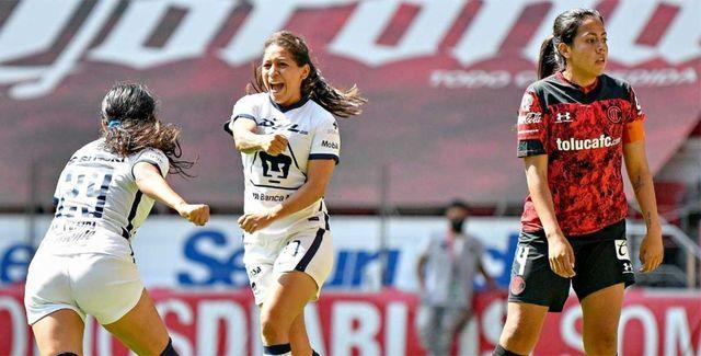 Resultado Toluca vs Pumas – Jornada 17- Guardianes 2021-  Liga MX Femenil