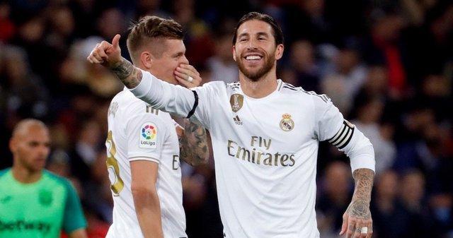 El Real Madrid vs Leganes en J11 de 2019-2020