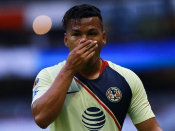 Reto de Tiros a gol en el entrenamiento del América