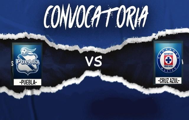 Convocados de Cruz Azul para enfrentar a Puebla – J2- Guard1anes 2020