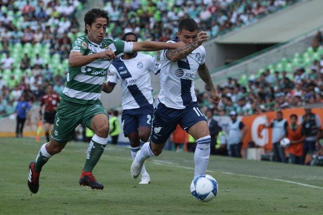 Resultado Santos vs Puebla en J3 de Apertura 2018