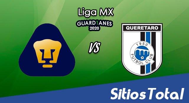Pumas vs Querétaro en Vivo – Liga MX – Guardianes 2020 – Domingo 26 de Julio del 2020