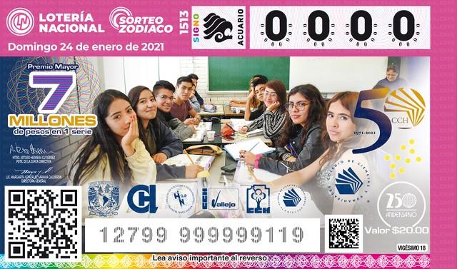 Loteria Nacional Sorteo del Zodiaco No. 1513 en Vivo – Domingo 24 de Enero del 2021