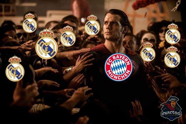 Meme 5 del Barcelona 2-8 Bayern Munich en la Champions League