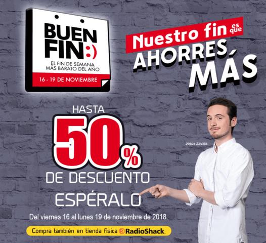 Ofertas Radioshack El Buen Fin 2018
