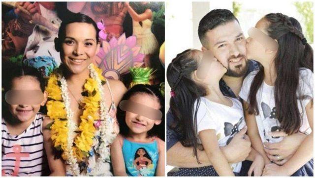 Así fue la convivencia entre las hijas de Karla Luna, sus hermanos y abuelos