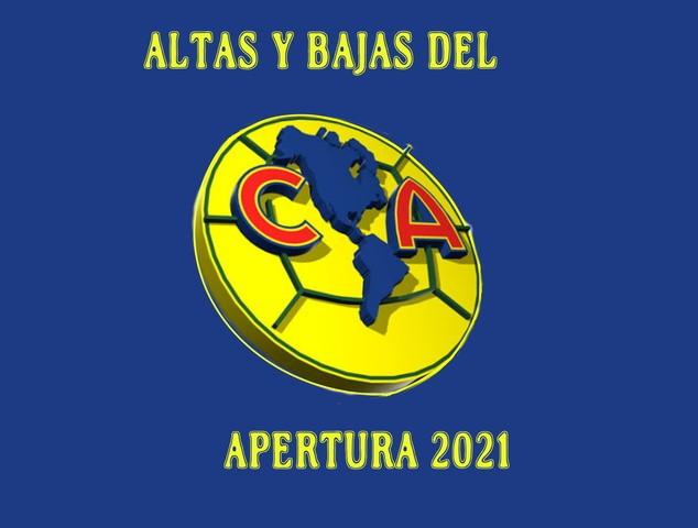 Altas y Bajas del América –  Apertura 2021