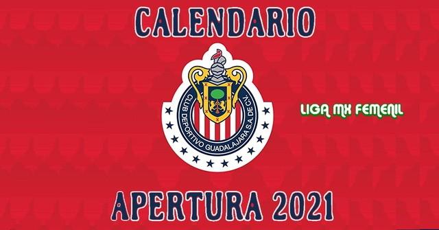 Calendario de Partidos de Chivas Femenil para el Apertura 2021