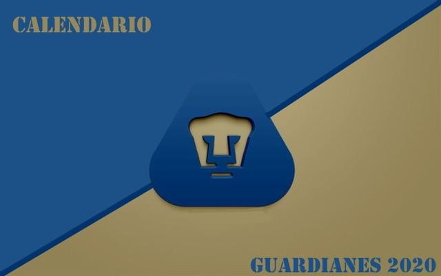 Calendario Pumas Guardianes 2020 (Apertura 2020)