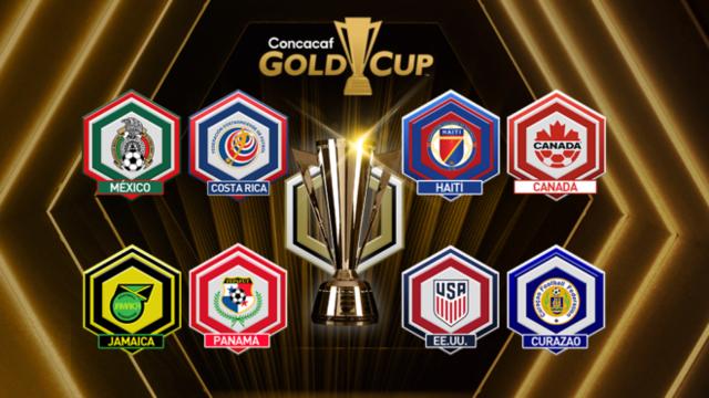 Así se jugarán los cuartos de final de la Copa Oro 2019
