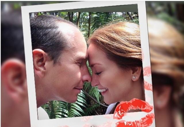 Andrea Legarreta y Erik Rubín celebran 20 años de casados