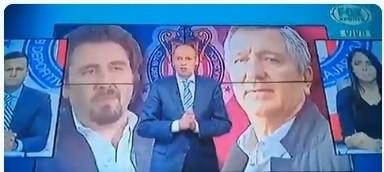 Comentarista André  Marín sale ¿borracho?  en TV