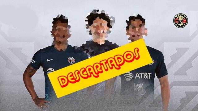 Descartados para el primer ´partido del América en el Apertura 2021
