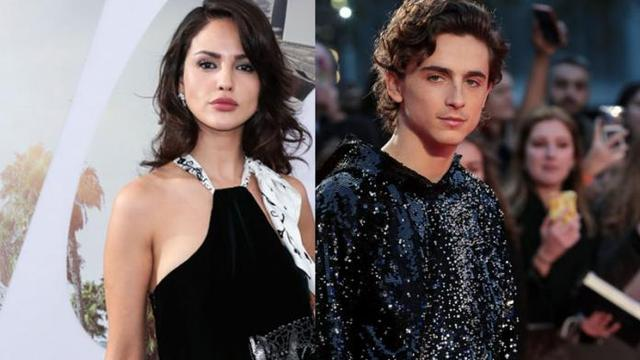 Eiza González tiene romance con Timothée Chalamet