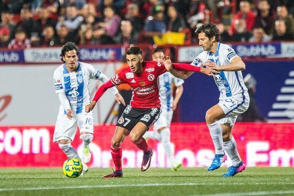 Resultado Xolos Tijuana vs Pachuca en J10 de Apertura 2018