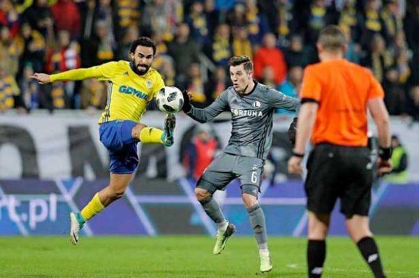 Enrique Esqueda anotó gol  en la liga de Polonia