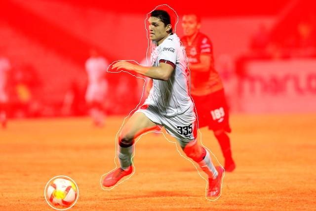 Chevy Martínez delantero de Chivas considerado el nuevo Chicharito