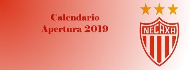 Calendario de Necaxa  para Apertura 2019