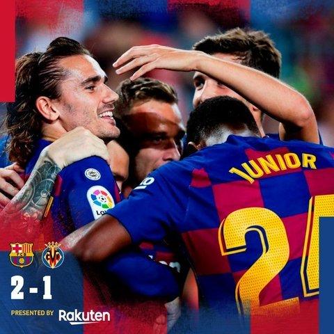Resultado Barcelona vs Villarreal – J6 – La Liga
