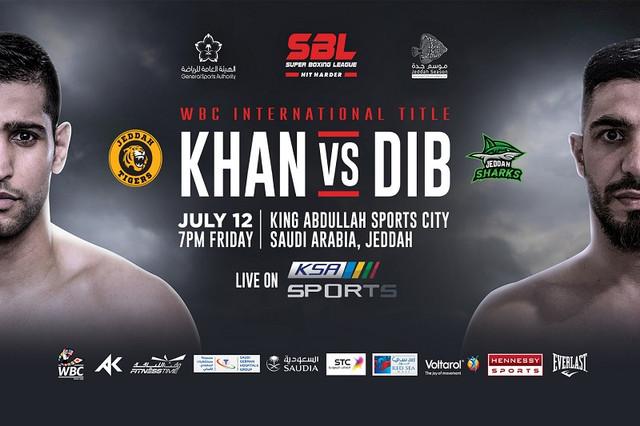 Amir Khan vs Billy Dib en Vivo – Box – Viernes 12 de Julio del 2019