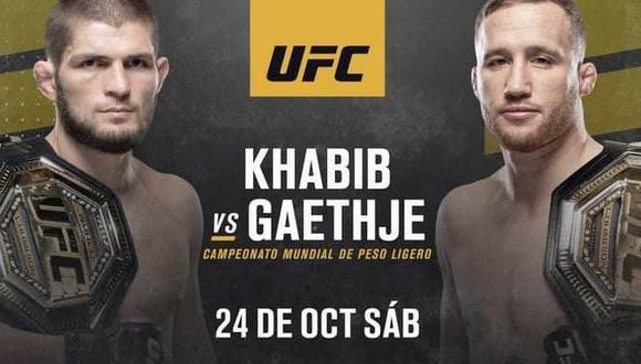 UFC 254 Preliminares en Vivo – Sábado 24 de Octubre del 2020