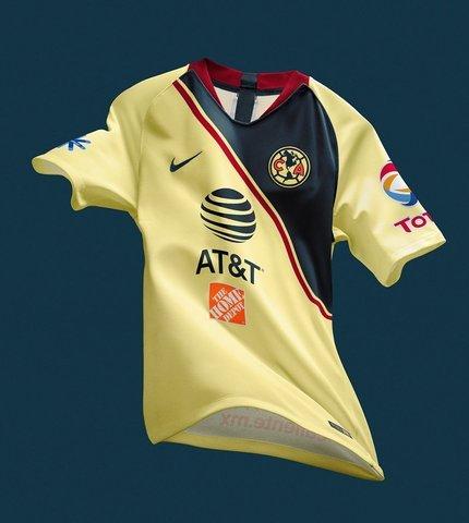 América presento uniformes para el Apertura 2018
