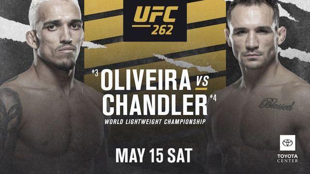 UFC Preliminares en Vivo – UFC 262 – Oliveira vs. Chandler  – Sábado 15 de Mayo del 2021