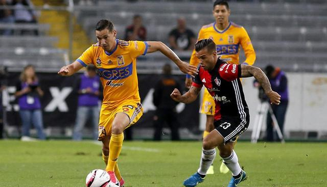 Resultado Tigres vs Atlas en J8 de Apertura 2018