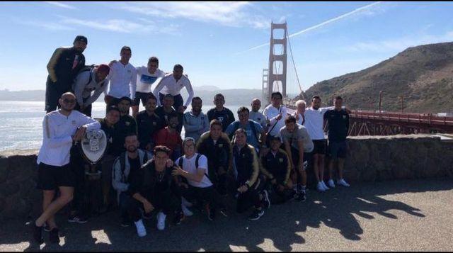 Pumas se divierte en el Golden Gate