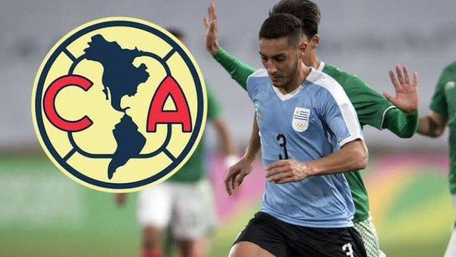 Sebastian Cáceres llega para firmar con América