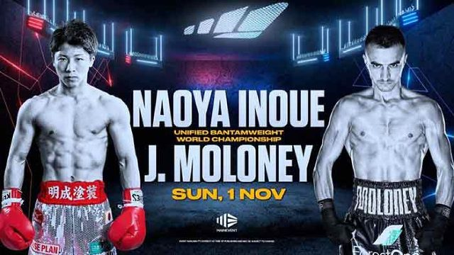 Naoya Inoue vs Jason Moloney en Vivo – Box – Sábado 31 de Octubre del 2020