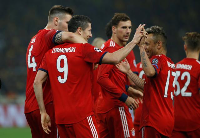 Resultado AEK Athens vs Bayern Munich – Fase Grupos – Champions League