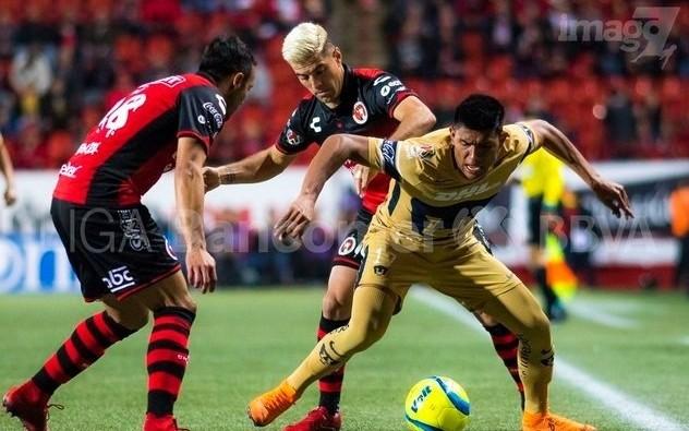 Resultado  Xolos Tijuana vs Pumas en Jornada 8 del Clausura 2018