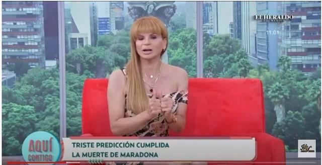 Mhoni Vidente predijo la muerte de Diego Armando Maradona