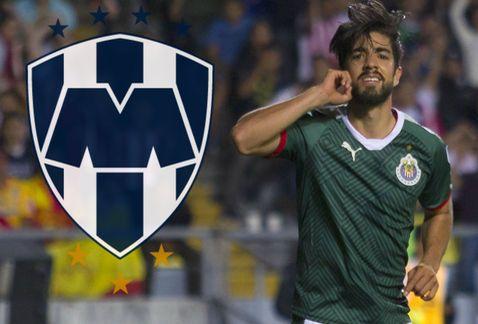 Pizarro a punto de dejar a Chivas por Rayados de Monterrey