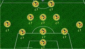 Posible alineación del América vs Santos