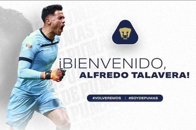 Alfredo Talavera es anunciado  con divertido video de la mascota de Pumas en Redes Sociales