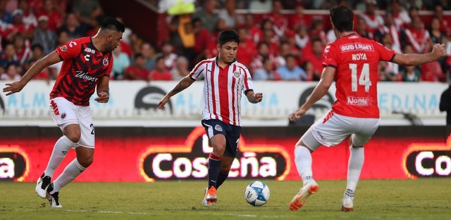 Resultado Veracruz vs Chivas en J5 de Apertura 2018