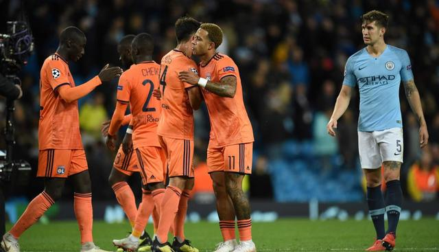 Resultado del Manchester City vs Lyon – Fase Grupos – Champions League