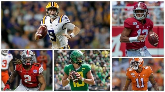 Ganadores del segundo día del Draft NFL 2020