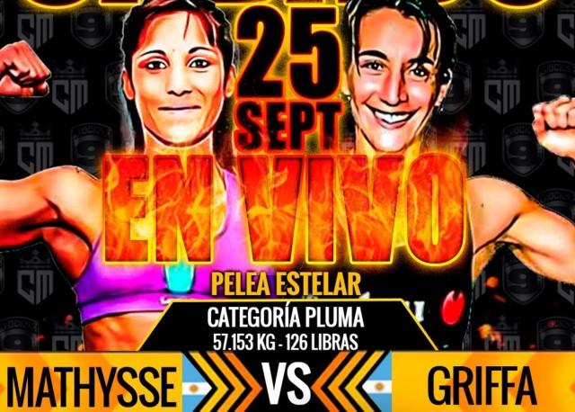 Edith Soledad Matthysse vs Laura Soledad Griffa en Vivo – Box – Sábado 25 de Septiembre del 2021