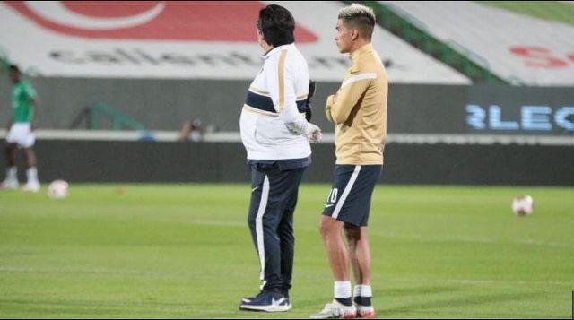 Favio Álvarez no se recupero para enfrentar al León