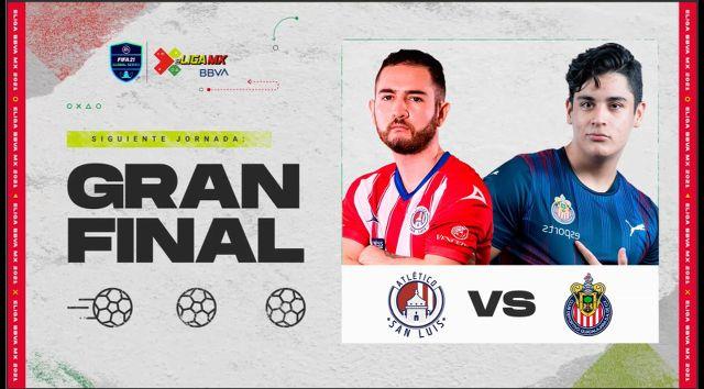 Chivas vs Atlético San Luis en Vivo - Final - eLiga MX