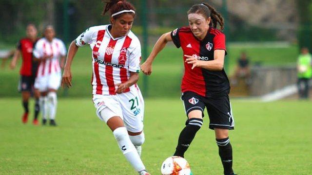 Resultado Atlas  4-1 Necaxa – J9 Apertura 2018- Liga MX Femenil