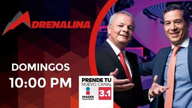 Adrenalina en Vivo – Domingo 15 de Septiembre del 2019